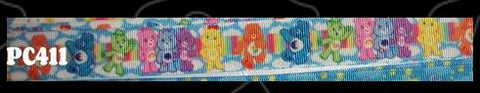 "BEARS Rainbow Hand Crafted Pacifier Dummy Clip - 11""-12"" pc411"