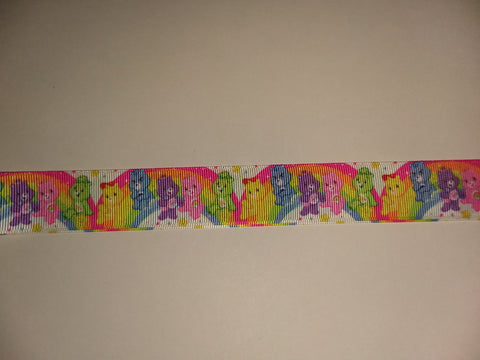 "BEARS Rainbow Hand Crafted Pacifier Dummy Clip - 11""-12"" pc412"