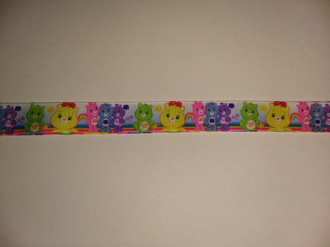 "BEARS Rainbow Hand Crafted Pacifier Dummy Clip - 11""-12""pc414"