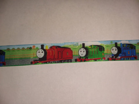 "Trains - Fire Truck Hand Crafted Pacifier Dummy Clip - 10""-12"""