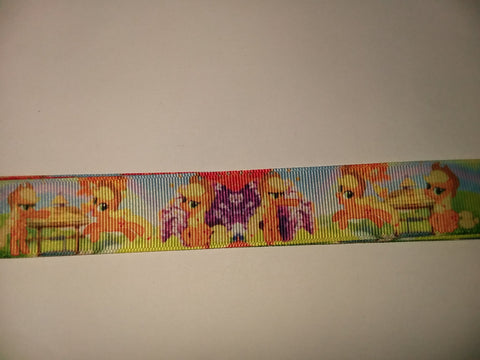 "Cartoons Pony Unicorn Hand Crafted Pacifier Dummy Clip - 11""-12"""