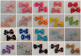 "Mini Polka-dots Boutique 2 pc 2.5"" hair bows set"