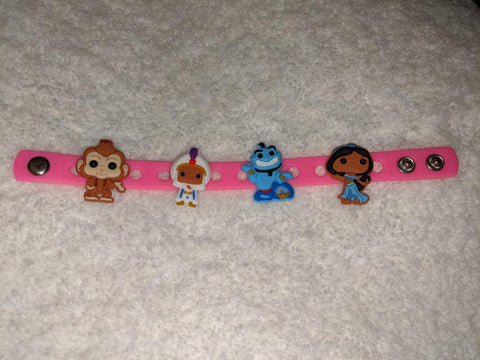 Princess New Super Cute Silicone Jibbiz Bracelet