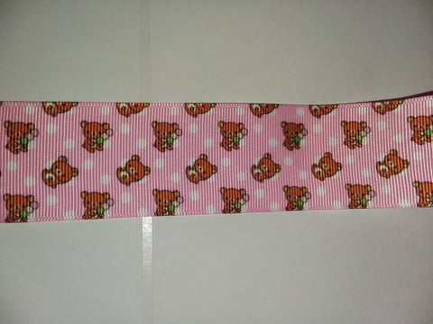 Bear Custom Made Ribbon Socks s235