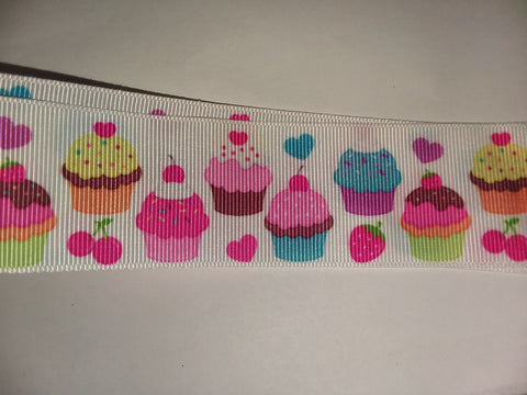Food Cupcakes Custom Made Ribbon Socks s323