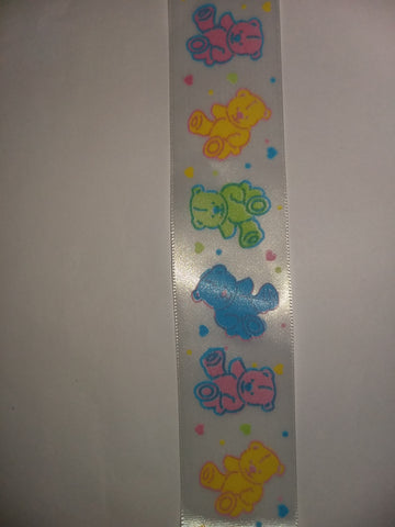 Bear Custom Made Ribbon Socks s327