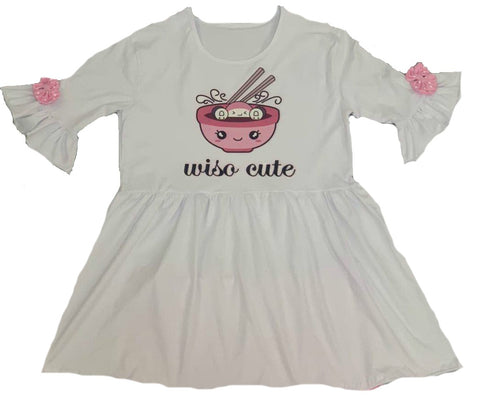 DISCONTINUED Wiso Cute Short Sleeve Shirt Dress Clearance
