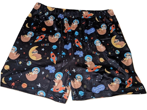 DISCONTINUED Sloths in Space Bloomers Shorts Clearance