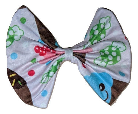 LIL' SWEETS MATCHING Boutique Fabric Hair Bow Clearance