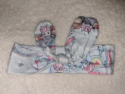 PRINCESS FAIRYTALE MATCHING Boutique Fabric Hairband Headband