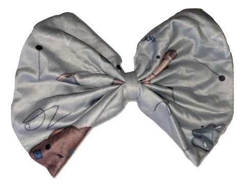 Repaired Stuffies Boutique Fabric large Hair Bow Designed by @Beeandbatwingz