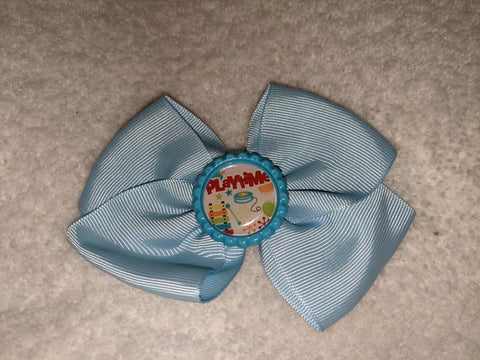 Playtime Bottle Cap Boutique Hair Bow