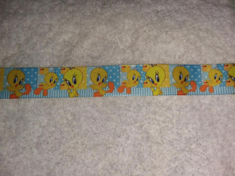 "80's Cartoon Bird Hand Crafted Pacifier Dummy Clip - 10""-12"""