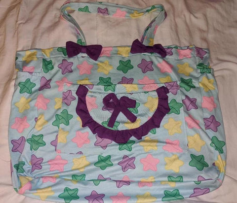 Lucky Stars Diaper Bag DESIGNED BY KEROKEROKOUHAI  Clearance