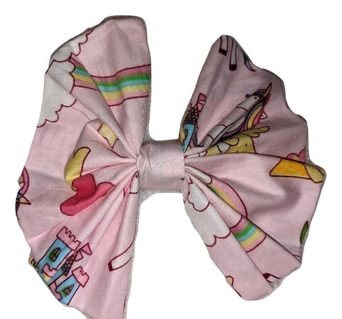 Unicorn Matching large Hair Bow