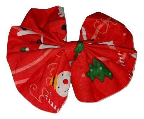 Holiday Christmas Matching large Hair Bow