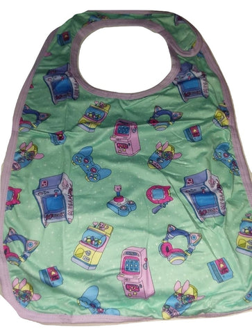 Mega Kitty Arcade Gamer Matching Bib