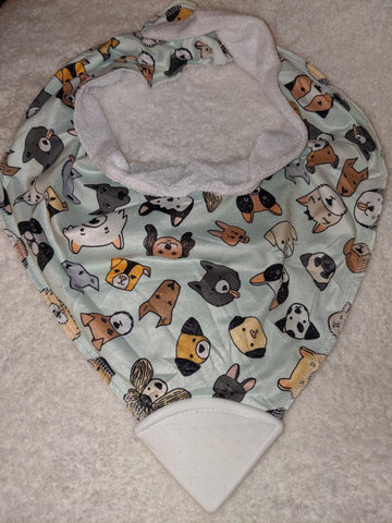 Bandana Teething Drool Bib Puppy Dogs