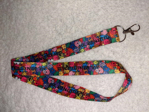 Smile Faces BADGE HOLDERS - LANYARDS