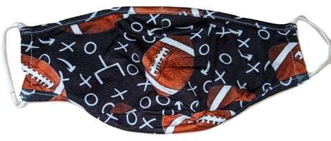 TOUCHDOWN FOOTBALL Matching Adult Face Masks