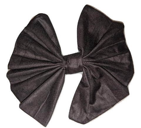Black Matching large Hair Bow