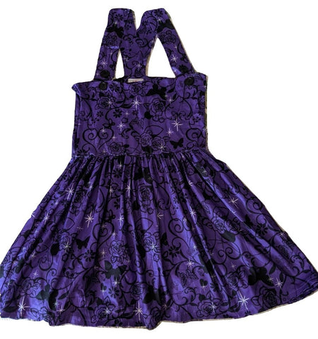 Suspender TWILIGHT BUTTERFLIES Jumper Skirt Dress