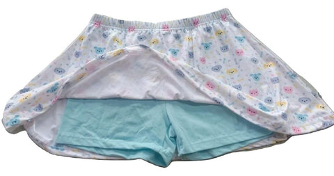 Kitty & Puppy Skort Skirt Shorts