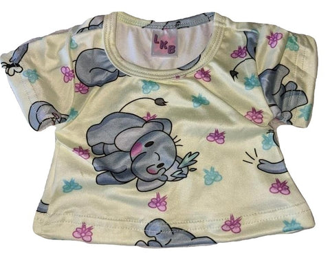 ELLIE THE ELEPHANT Stuffy Matching Shirt Designed by @cyan.red
