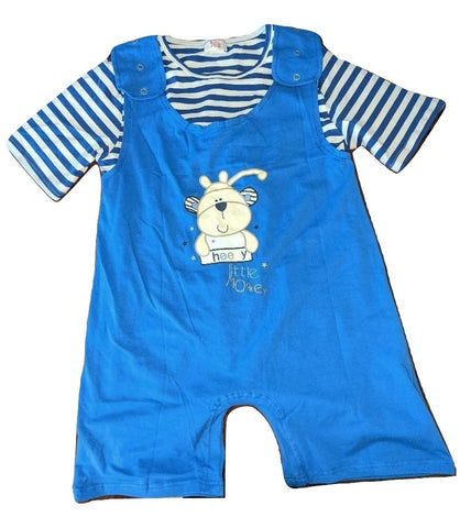 Cheeky Lil One Monkey 2pc Shirt & Matching Romper Set Outfits