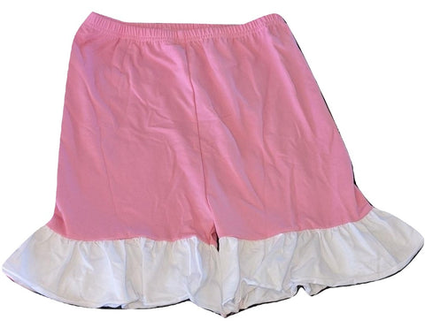 Pink & White Matching Shorts