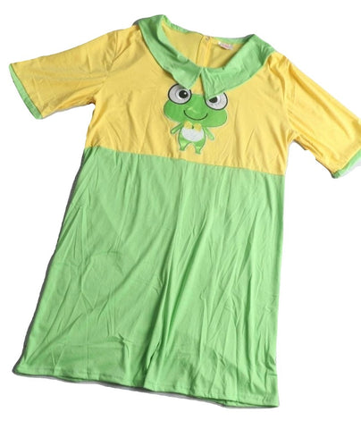 DISCONTINUED Lil Froggy 1pc Romper Outfit Clearance