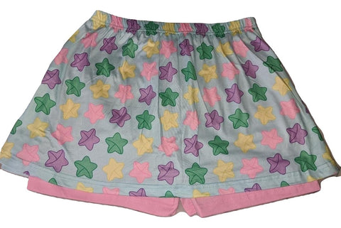 LUCKY STARS Skort Skirt Shorts DESIGNED BY KEROKEROKOUHAI
