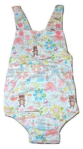Its A Baby Girl Sunsuit Romper