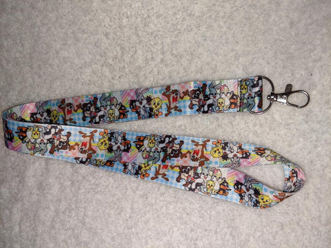 80'S CARTOON L T'S BADGE HOLDERS - LANYARDS