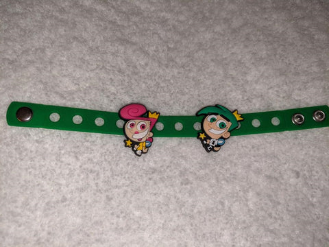 2000's Cartoon Fairys New Super Cute Silicone Jibbiz Bracelet