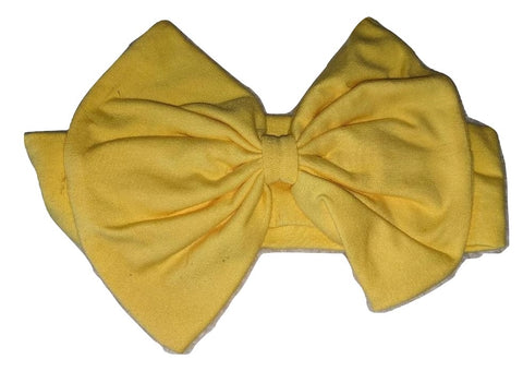 Yellow Boutique Fabric Hairband Headband