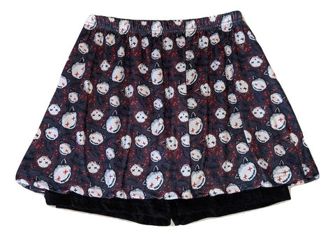 GOTH KITTY Skort Skirt Shorts