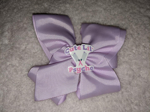 Cute Lil Psycho Boutique Hair Bow