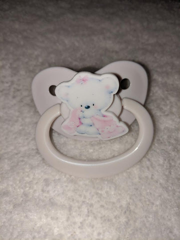 Bears Pacifier Pink