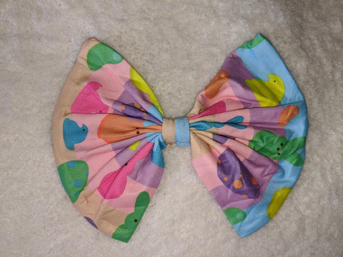 Easter Bunny MATCHING Boutique Fabric Hair Bow Clearance