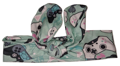 Video Game MATCHING Boutique Fabric Hairband Headband