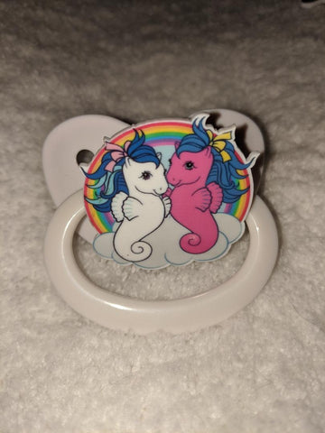 Sea Horse Pony Pacifier