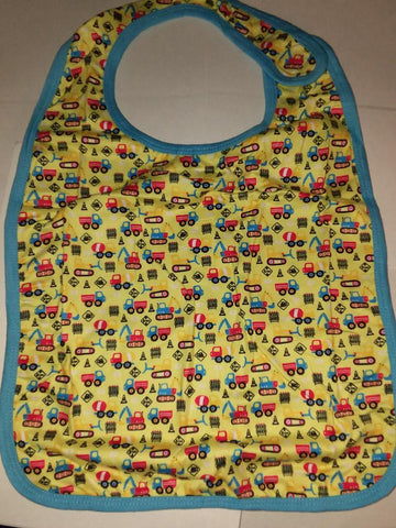 LIL CONSTRUCTION VEHICLES Matching Bib
