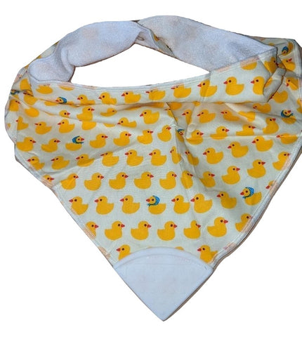 Bandana Teething Drool Bib Ducks