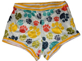 DISCONTINUED Puppy Paws 2pc Shirt & Matching Shorts Outfits
