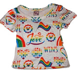 LOVE WINS Stuffy Matching Shirt