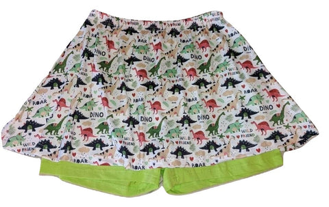 WILD DINO FRIENDS Skort Skirt Shorts