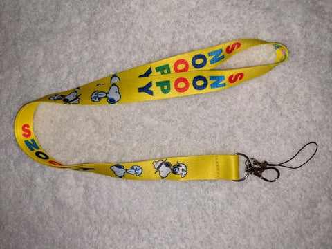White Dog badge holders - LANYARDS