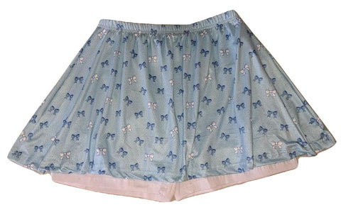 LIL PRETTY BOWS Skort Skirt Shorts