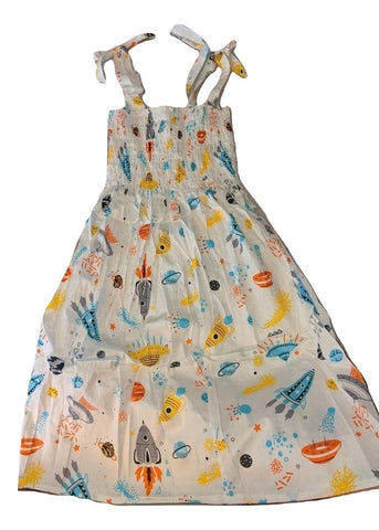 DISCONTINUED Space Smock Halter Summer Dress * need measurements Clearance